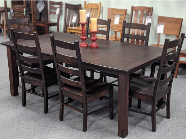 Square Leg Table Mission Ladder Chair Original Price $4,351.00 15 % Off Price $3698.00