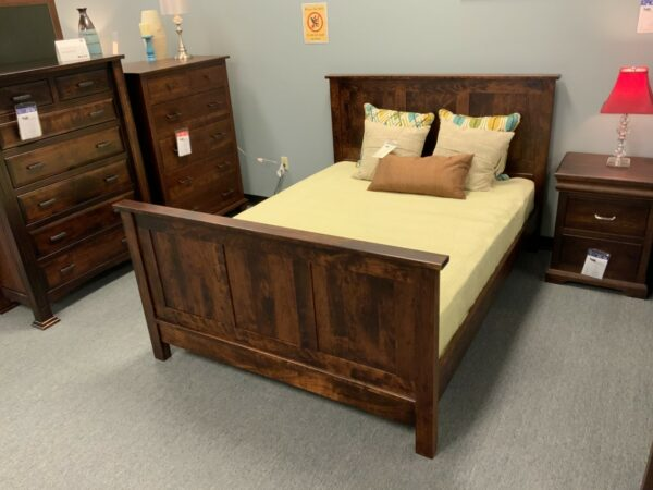Flush Mission Queen Bed