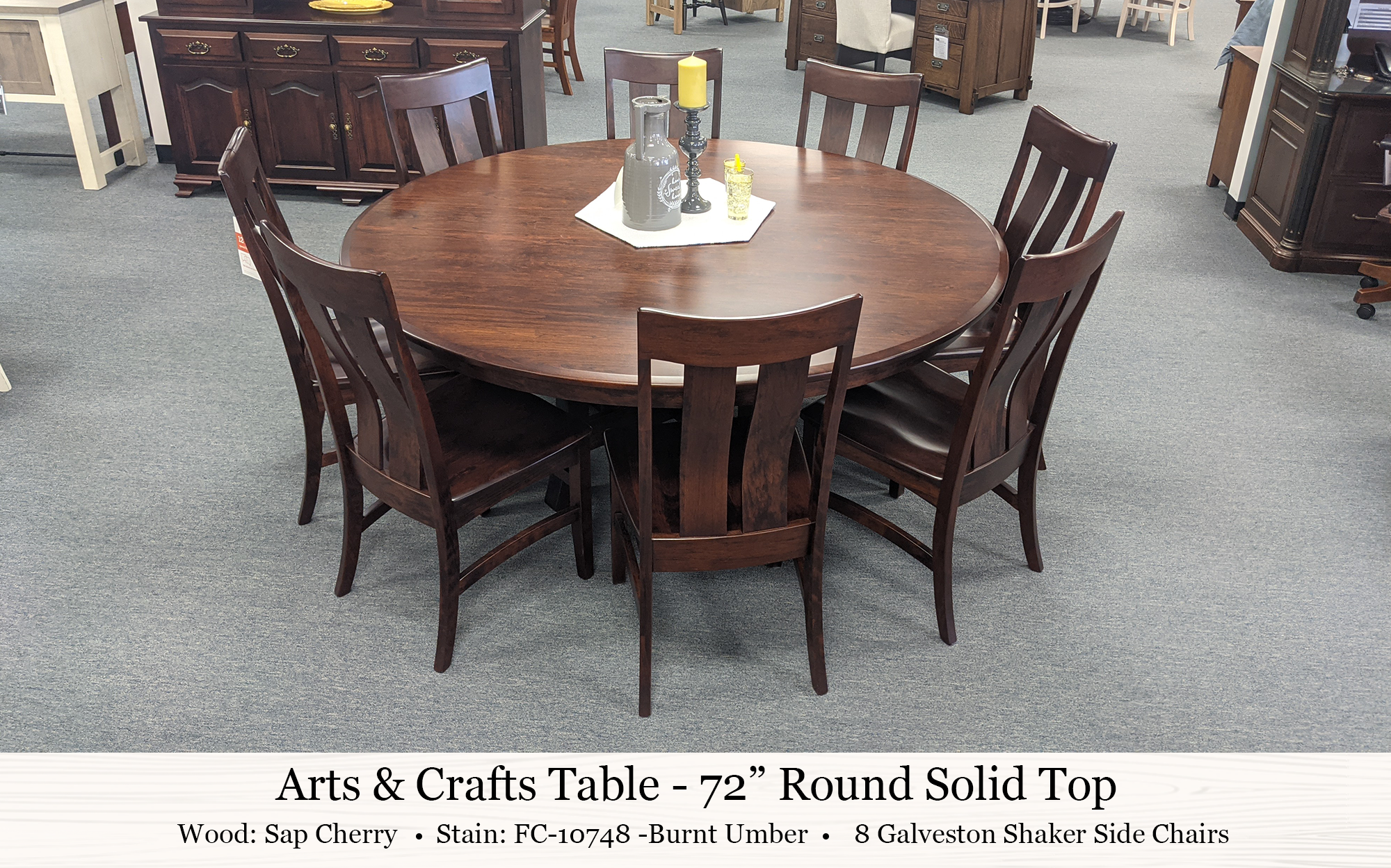 Arts And Crafts Table Galveston Shaker Chair